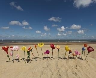 Blumen aus Krepppapier