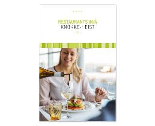 Cover brochure restaurants