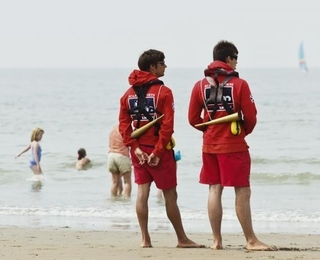 Redders aan zee