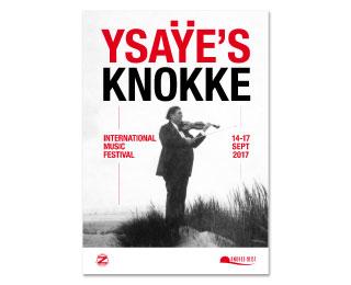 Brochure Ysaÿe's Knokke