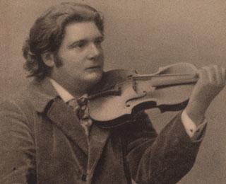 Ysaÿe met viool