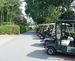 Royal Zoute Golf Club - Golfkarretjes