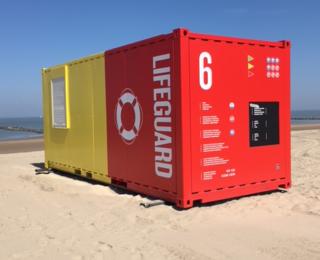 Container des sauveteurs
