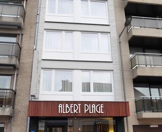Vorderseite Hotel Albert Plage