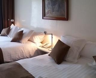 slaapkamer Hotel Approach
