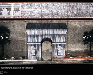 Christo, Arc de Triomphe (Project for Paris) Place de l'Etoile – Charles de Gaulle