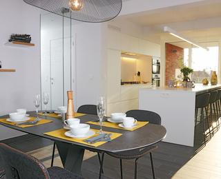 keuken B2B Apartments Knokke
