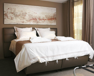 slaapkamer B2B Apartments Knokke