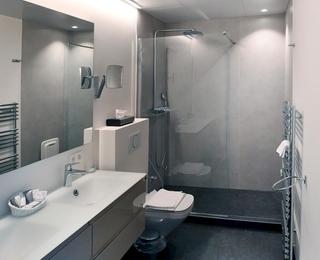 Badezimmer b&b Binnenhof