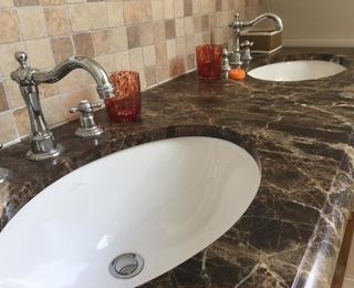 salle de bains Villa Les Champs de Knokke
