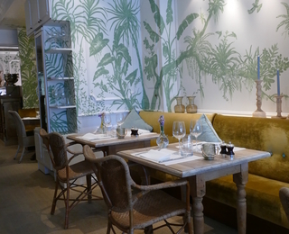 Brasserie Botanique Innenraum