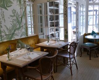 Brasserie Botanique intérieur