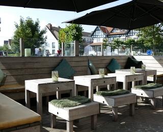 Brasserie Botanique terrasse