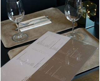Brasserie Couteau table