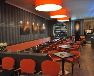 Brasserie Du Zoute Innenraum