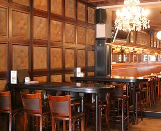 Brasserie Falstaff interior