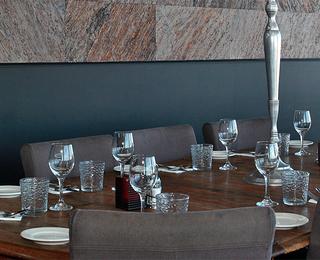Brasserie Point Du Vue tafel