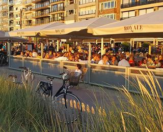Brasserie Royale terrace