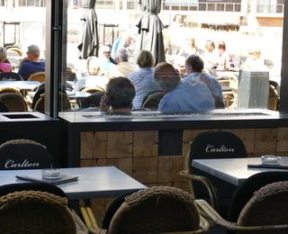 Brasserie Carlton terras