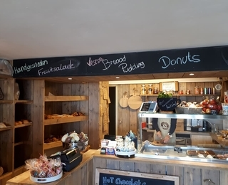 Charlie's Bread And Coffee Innenraum