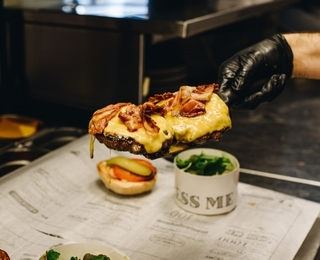 Ellis Gourmet Burger gerecht