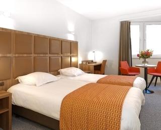 slaapkamer Hotel Adagio