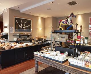 salle de petit déjeuner Hotel Binnenhof