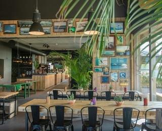 restaurant Lakeside Paradise Sport Hostel