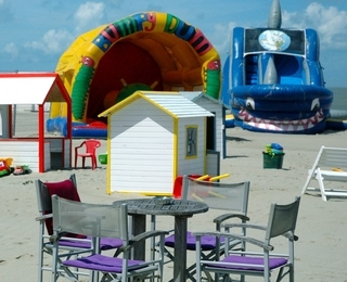 Kid's Beach Sterrenlaan Terras