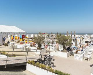 Knokke-strand Terras