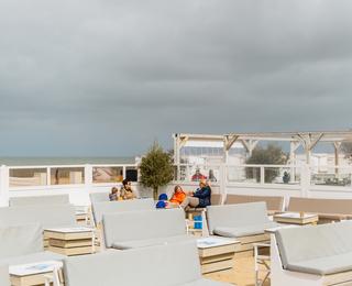 Knokke-strand Sitz