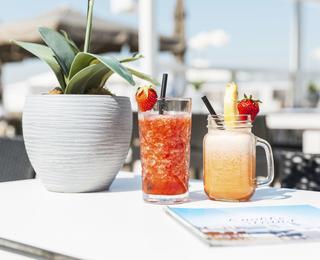 Knokke-strand drankje