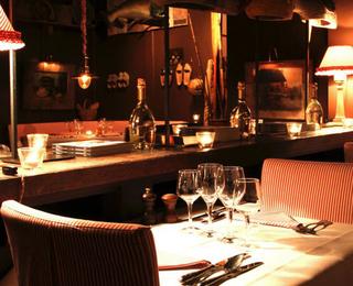 Le Bistro De La Mer tafel