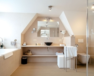 salle de bains Hotel Lugano