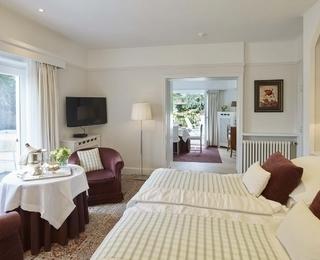 slaapkamer Hotel Manoir du Dragon