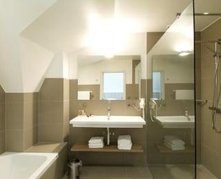Badezimmer Hotel Huyshoeve