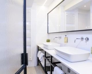 Badezimmer Hotel Nelson