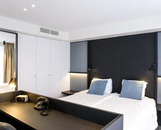 slaapkamer Hotel Nelson
