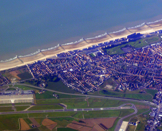 Oostende luchtfoto