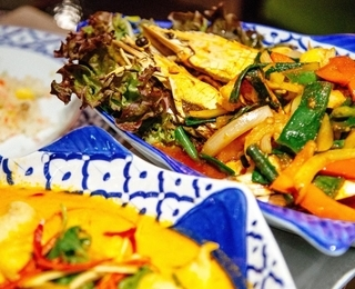 Orchidee Thai gerecht