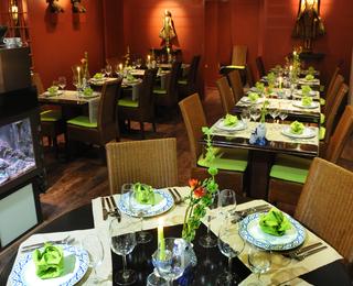 Orchidee Thai interior