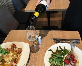 Paste e Vino table