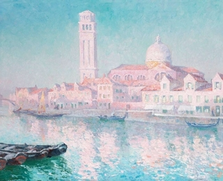 Paul le Duc View of venice