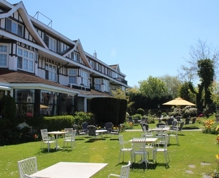Garten Hotel Pavillon du Zoute