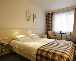 slaapkamer Hotel Prins Boudewijn