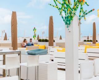 Siesta Beach Terrasse