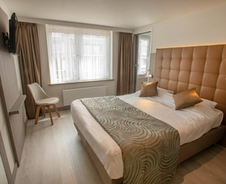 slaapkamer Hotel Atlanta