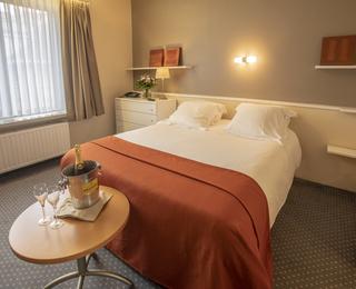 slaapkamer Hotel Lido