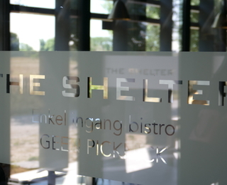 The Shelter front