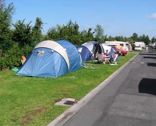 Camping Zilvermeeuw : tentplaats